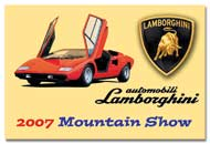 Lamborghini Dash Plaque